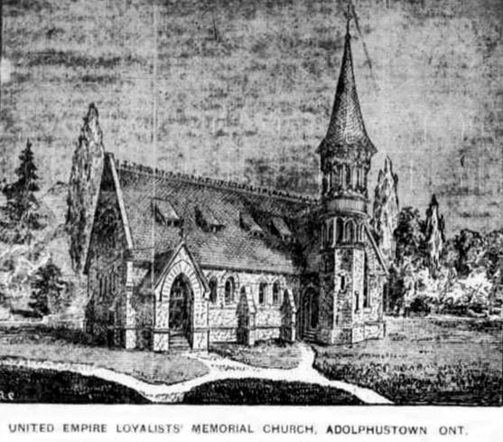 St Albans  Kingston News June 6 1887 sketch